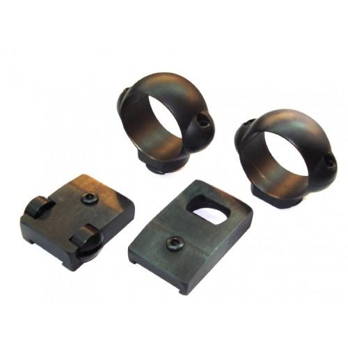 Monturas fijas Burris de acero / anillas de 25.4mm