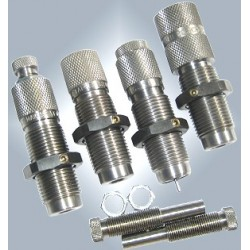 Dies .38 /.357  / 4 componentes Carbide (Carburo de Tungsteno)