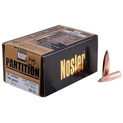 Proyectil Nosler Partition .30  180 grain