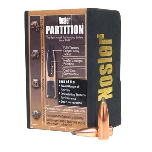 Proyectil Nosler Partition .30 150 grain / 10.7 gr