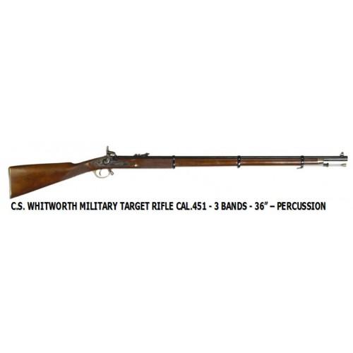 Euroarms WH360 Whitworth Target Rifle 3 Band .451