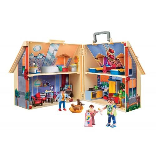 5167 Casa de muñecas maletín