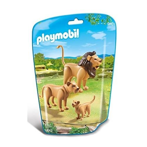 6642 Familia de leones