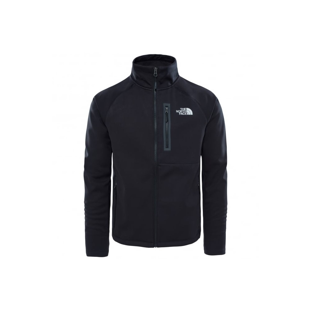 the north face can soft shell jacket black armer a. Black Bedroom Furniture Sets. Home Design Ideas