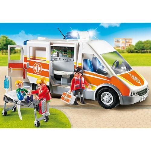 6685 Ambulancia con luces y sonido
