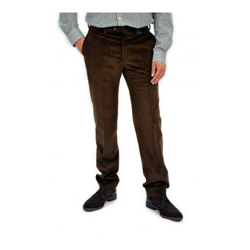 Pertegaz Pantalón de pana marrón P665
