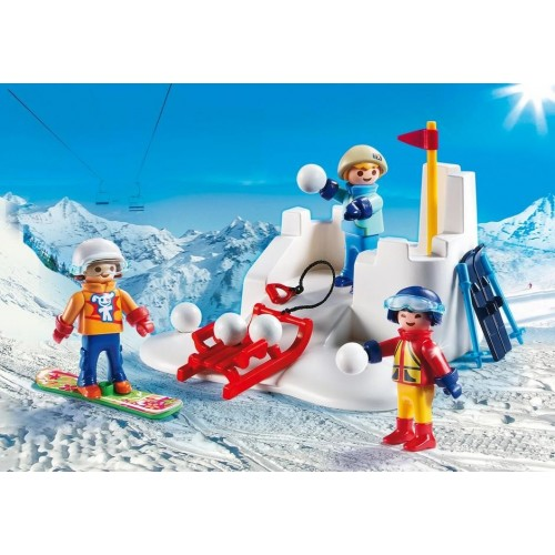 9283 Guerra de bolas de nieve