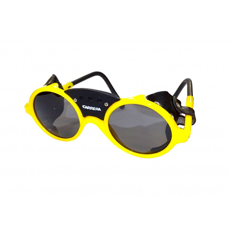 Carrera Yellow Alpine Glasses Kids