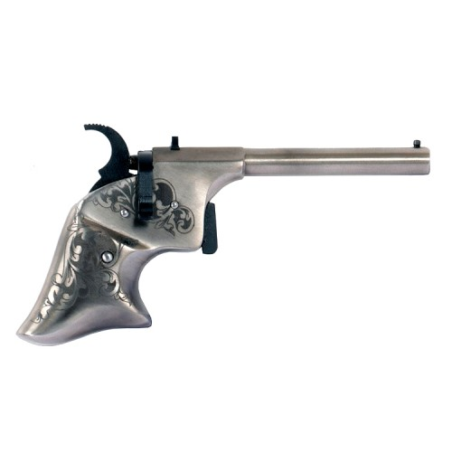 Pistola Pedersoli Derringer Guardian White DeLuxe 4.5mm