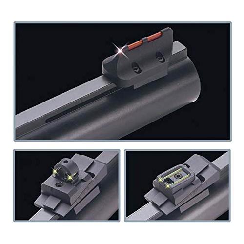 Set de 2 alzas + Punto de Mira en fibra óptica Truglo Universal para Escopeta
