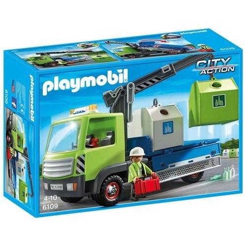6109 Camión de Residuos con Contenedor