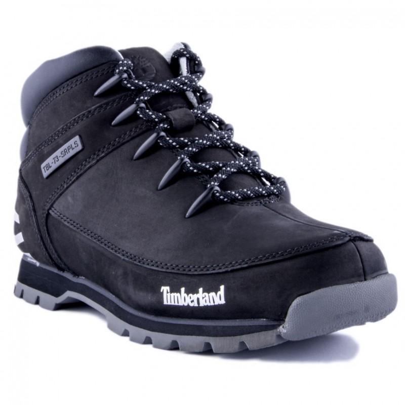 zapatos de separación f6adb 164cd Botas Timberland Euro Sprint Hiker Black Grey