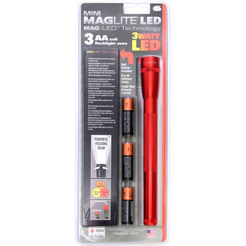Linterna LED Mini Mag-lite 3 Watt