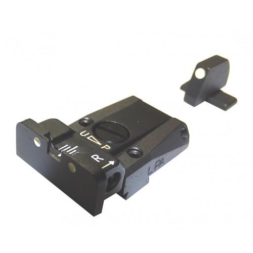 Alza y punto de mira LPA Sig Sauer P220, P225, P226, P228, P320 Ref.: SPR28SS30