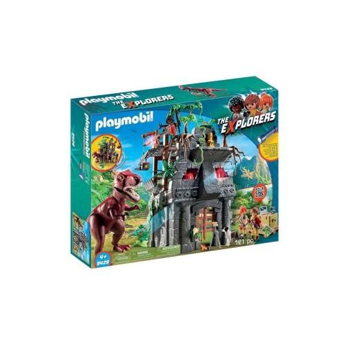 Playmobil Campamento Base con T-Rex