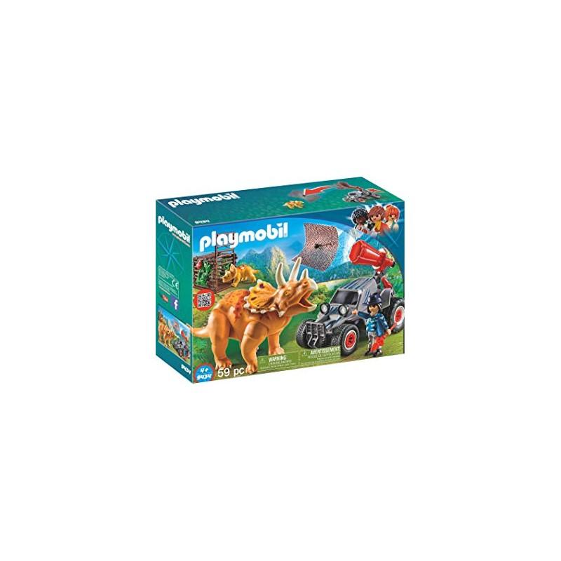 Playmobil 9434 Trelles Triceratops Coche Con l Armería S qSzMpGUV