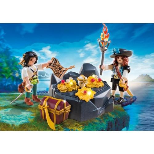 Playmobil Escondite del Tesoro Pirata 6683