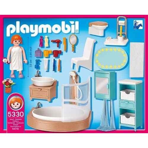 Playmobil Baño rosa 5330