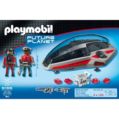 Playmobil Deslizador Dark Ranger 5155