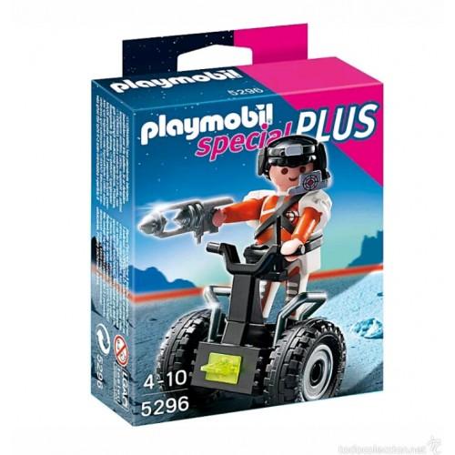 Playmobil Agente Secreto con Balance Racer 5296