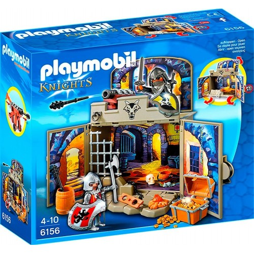 Playmobil Cofre Caballeros del Tesoro 6156