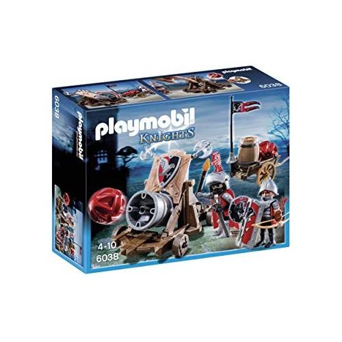 Playmobil Caballeros del Halcón con Cañón 6038