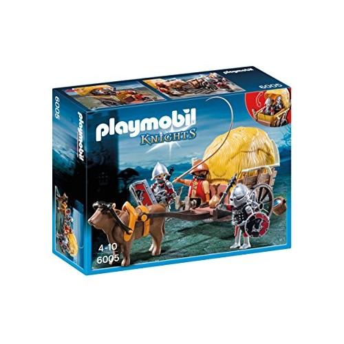 Playmobil Caballeros del Halcón con Carro 6005