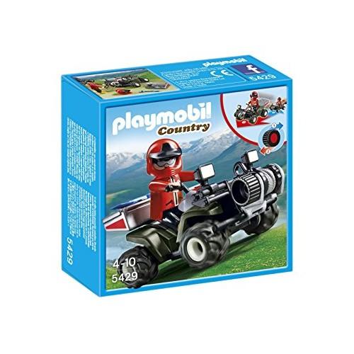Playmobil Quad Rescate de Montaña 5429