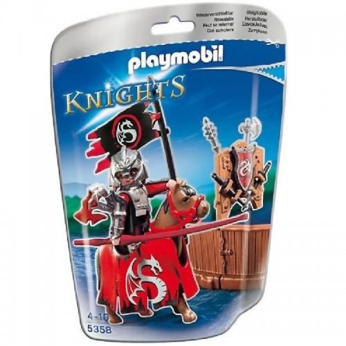Playmobil Justa del Caballero del Dragón 5358
