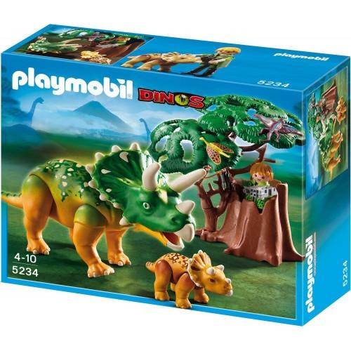 Playmobil Triceratops con cría 5234