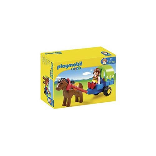 Playmobil Carruaje con Poni 6779