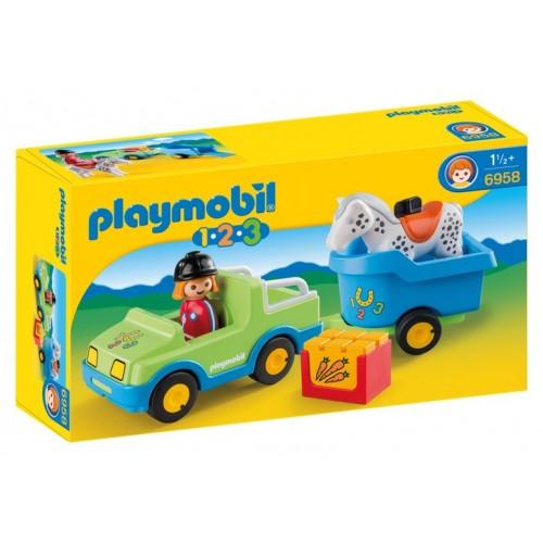 Playmobil Coche con Remolque 6958