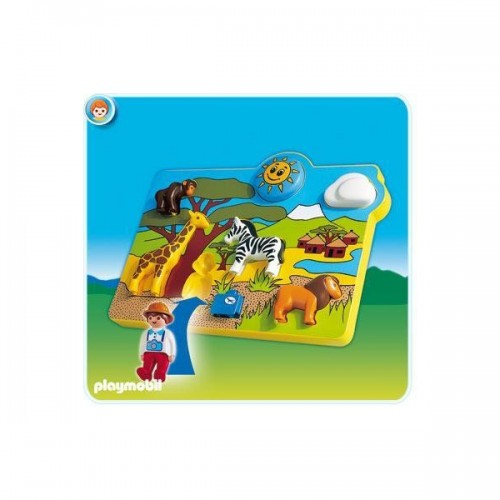 Playmobil Puzzle Animales 6745