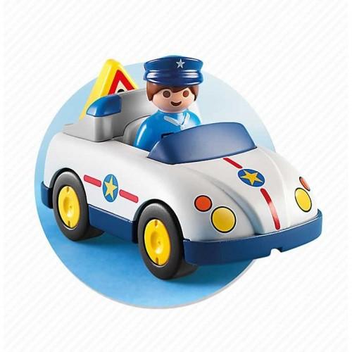 Playmobil Coche de Policía con Agente 6797
