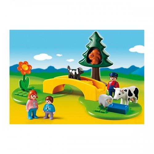 Playmobil Pradera con Puente y Sendero 6788