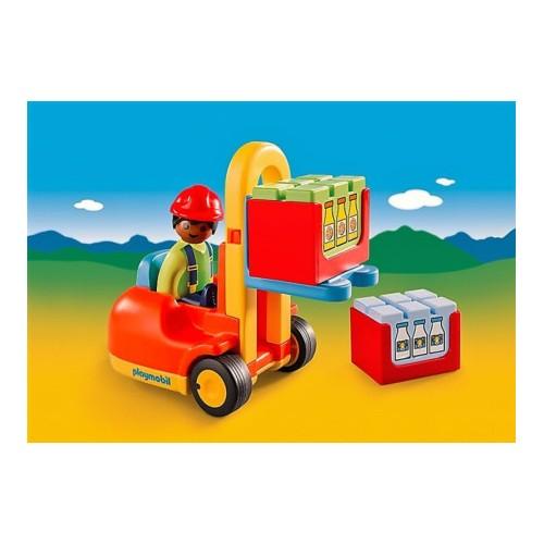 Playmobil Carretilla Elevadora con Operario 6959