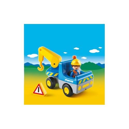 Playmobil Camión Grúa con Operario 6791