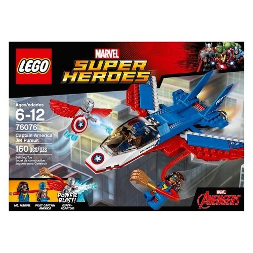 Lego Jet del Capitán América 76076