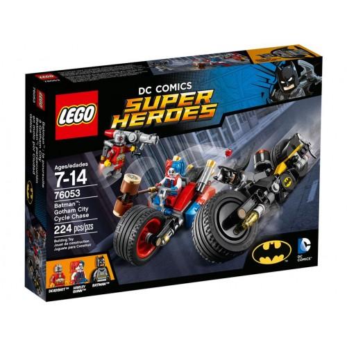 Lego Persecución en Moto por Gotham City 76053