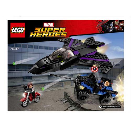 Lego A la Caza de Pantera Negra 76047