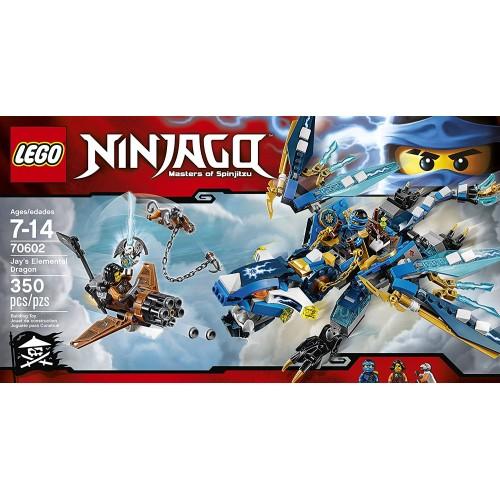 Lego Dragón elemental de Jay 70602