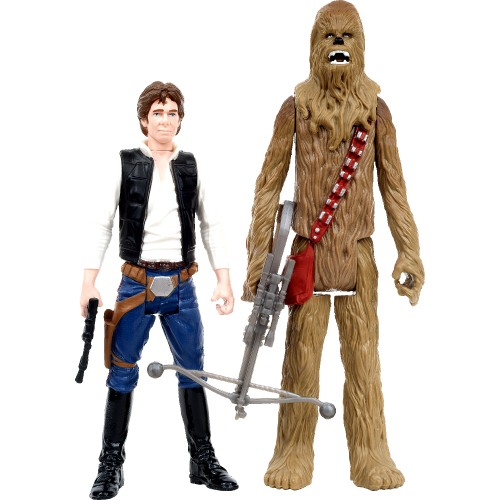 Star Wars Han Solo & Chewbacca