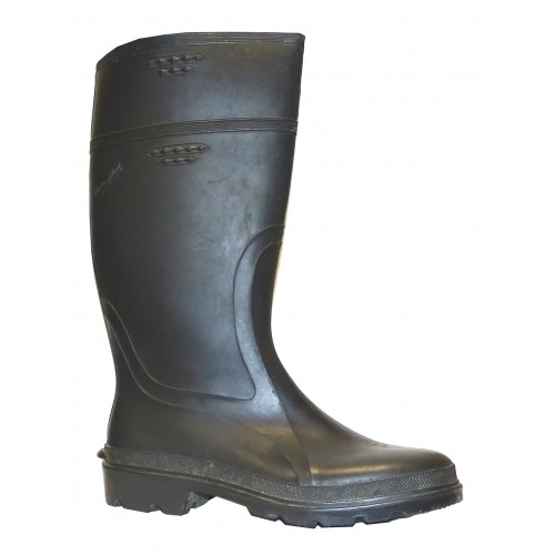 Botas Caucho Worker Black