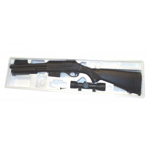 Escopeta Tactical de Corredera M47A con Visor Punto rojo