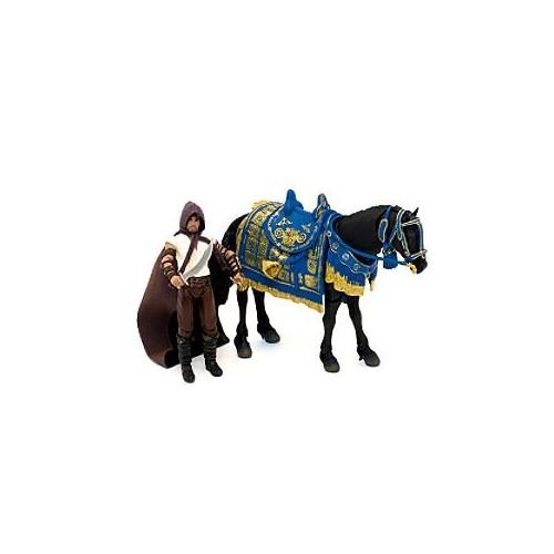 Príncipe Dastan con su caballo Aksh