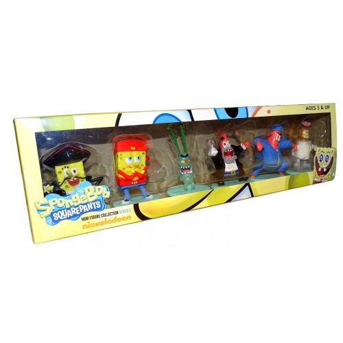 Bob Esponja Mini Figuras Colección 2