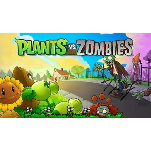 Plants Vs. Zombies Ducky Tube Zombie & Peashooter