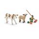 Animales de granja y Limpieza de establo