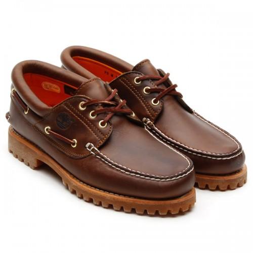 Zapatos Naúticos Timberland Clásicos Brown