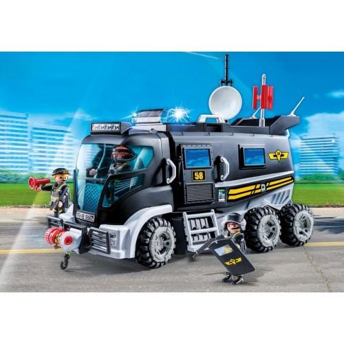 9360 Vehículo Fuerzas Especiales  con Luces LED y Módulo de Sonido